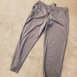 Grey Under Armour sweatpants